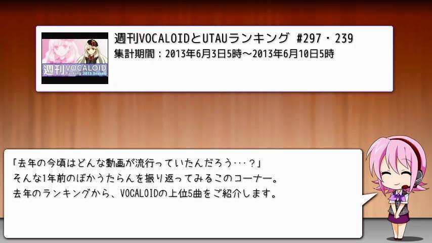 週刊VOCALOIDとUTAUランキング #349・291 [Vocaloid Weekly Rank #349] BqJLYdLCYAAv58F