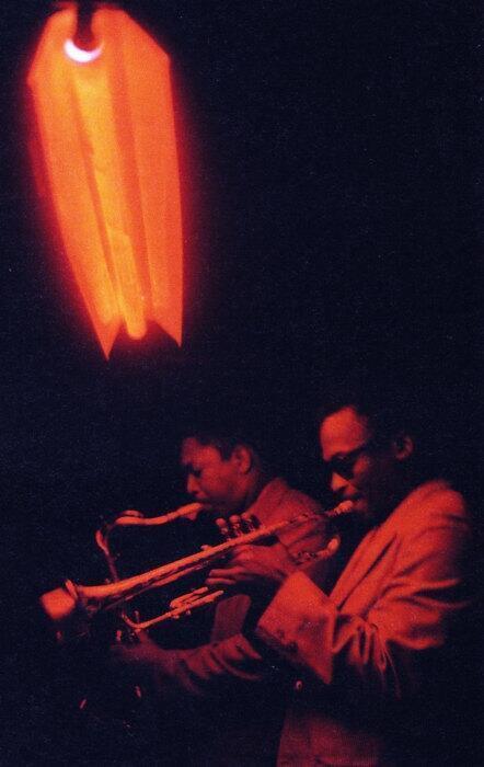 Miles Davis and John Coltrane http://t.co/SD2VtTOR5Y