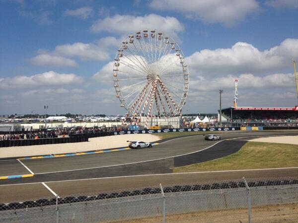 #LM24 view from @MichelinTyres http://t.co/tNskI3pOgK