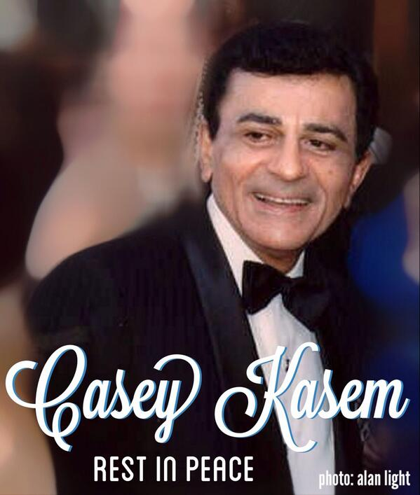 He was super-cool to us when we reached out to him as baby-dj's. Kind, & Classy. Huge impact on us. #rip #CaseyKasem http://t.co/8GOcJvCi5x