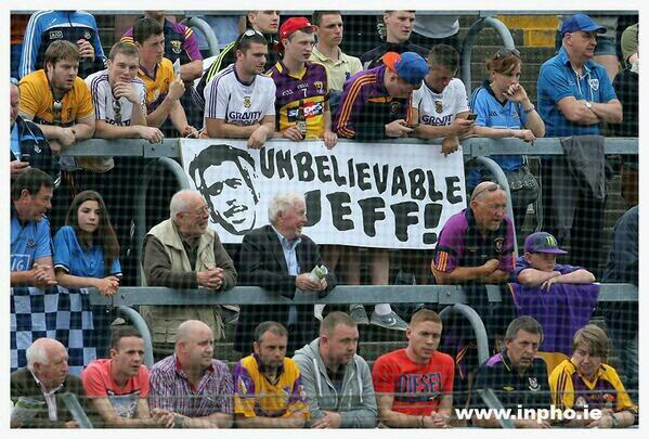 Shout out to these boys at Wexford Park yesterday! You should come to a GAA game this summer @chris_kammy ;) http://t.co/KhYWCVAP2M