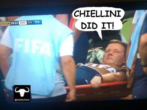 There are a fair few Gary Lewin Memes doing the rounds after injury during England 1   Italy 2