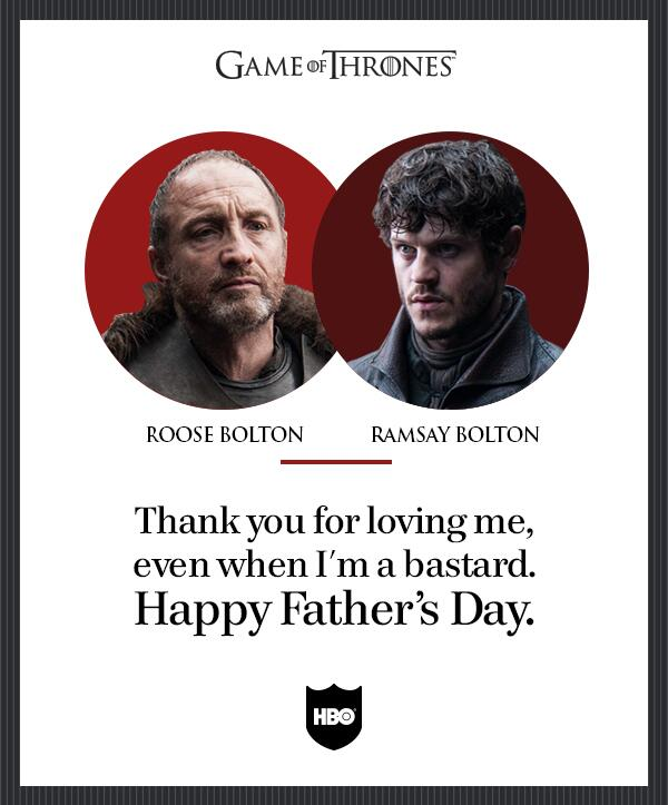 """Game Of Thrones On Twitter: """"We Mustn't Disappoint Father"""