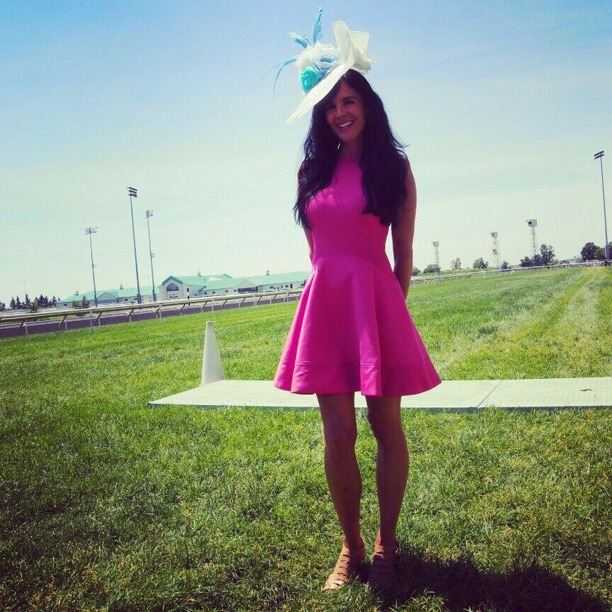 Twitter / WoodbineRacing: The lovely Dawn Lupul ...