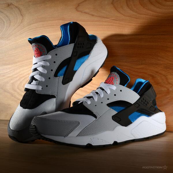The Nike Air Huarache Blue Hero is