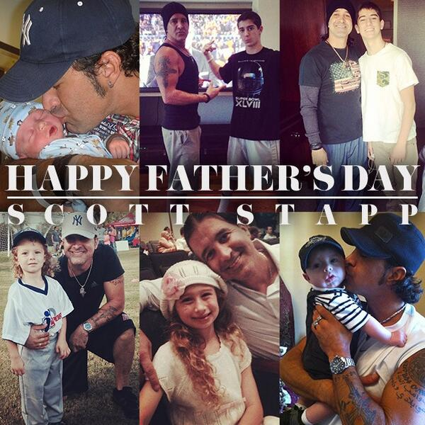 Your little bundles of joy!Happy Fathers Day 2a terrific Dad! We love you&so proud of u @ScottStapp #HappyFathersDay http://t.co/y1j0QbtUx2