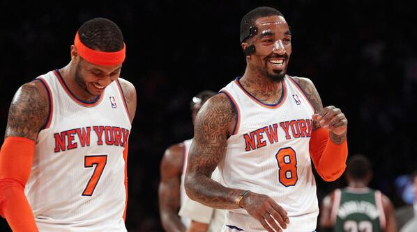 RT @theScore: If Carmelo Anthony goes to the Heat, J.R. Smith considers their friendship over. http://t.co/iaot8mBhUg http://t.co/xUwdxnEhMV