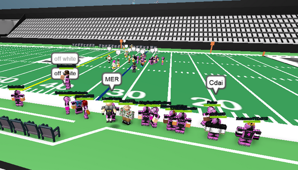 Merely On Twitter Stumbled On A Football League With A - roblox ofl