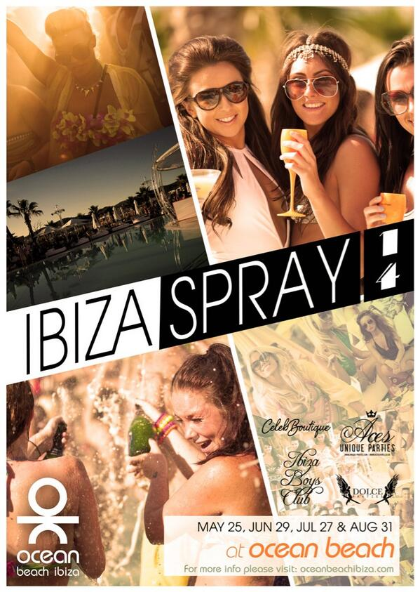 2 weeks today IBIZA SPRAY comes to @OceanBeachIbiza http://t.co/upw0yNBPXL