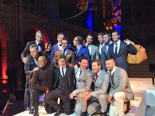 Possibly the best looking bunch of men in one photo! @One4theBoys #CharityBall name the Celebs! http://t.co/yepBIKAuiD
