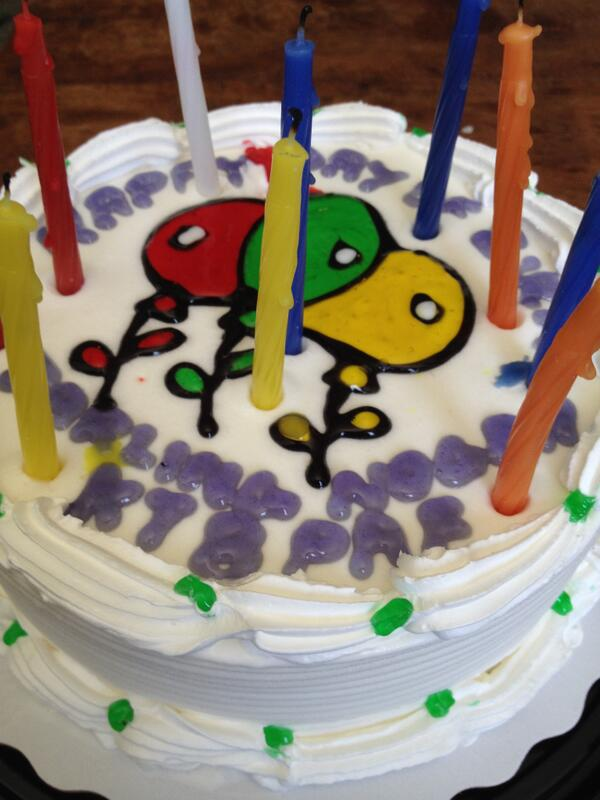 Nogah Kornberg On Twitter My Birthday Cake Included An Ode To The