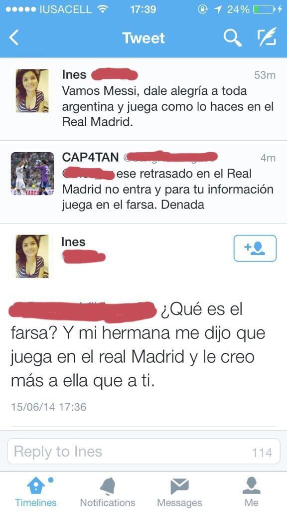 Éste tiene que ser el mejor tuit de Lionel Messi de toda la historia http://t.co/oFvbLAUtnb
