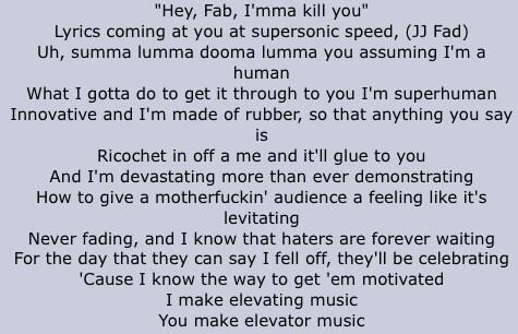 How To Learn Rap God Lyrics