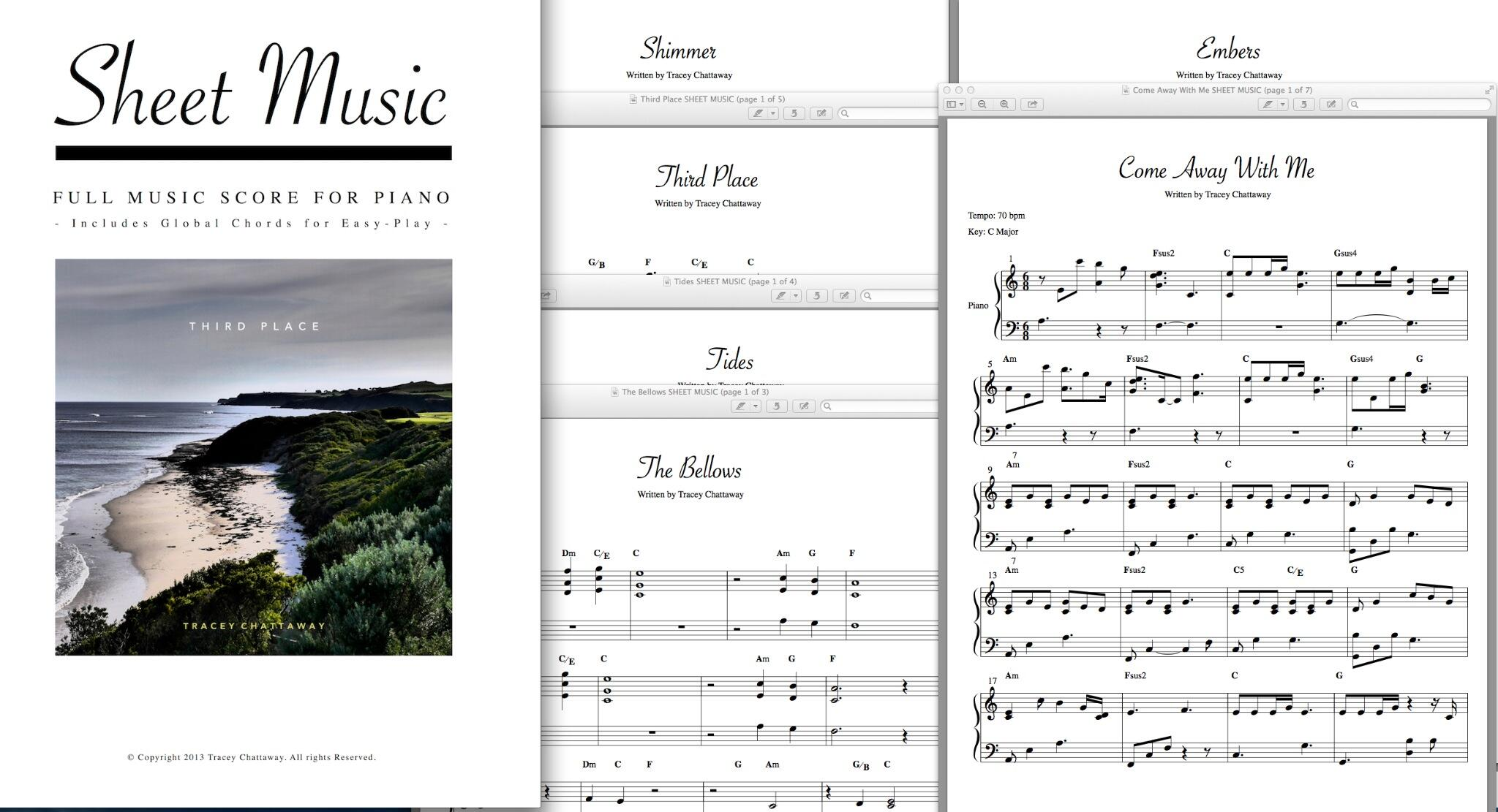 Tracey Chattaway On Twitter And Now There Is Sheet Music For The