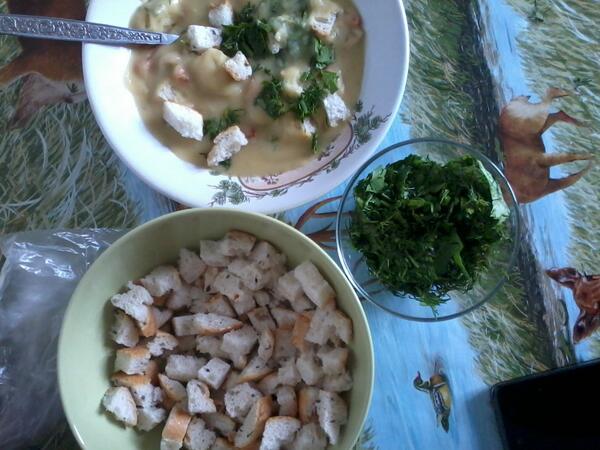 Крем суп из чечевицы рецепт