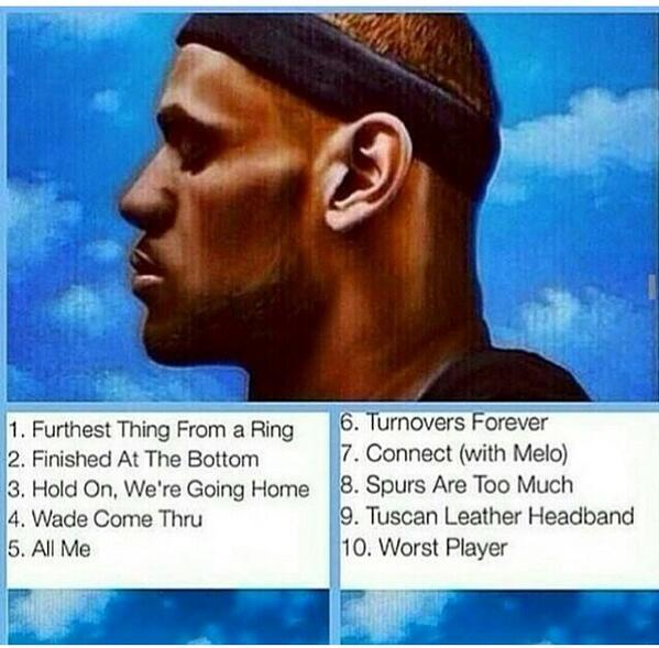 2014 NBA Finals Memes Lebron New Album Drake