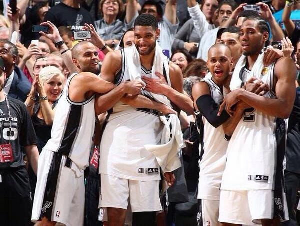 A championship team. In the truest sense of the word. #spurs http://t.co/4LNTG0CIWF