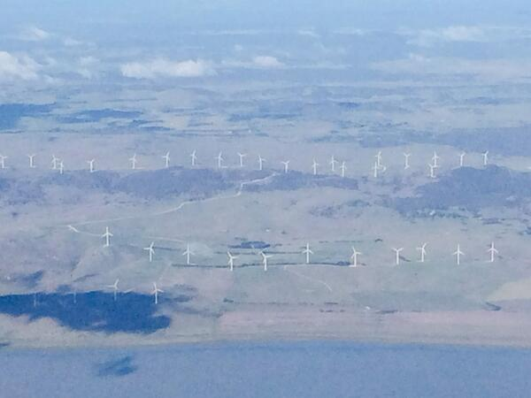 """Joe Hockey's """"utterly offensive"""" wind turbines - if only we'd gone with a picturesque coal fired power station http://t.co/I38Ok9n8Ui"""