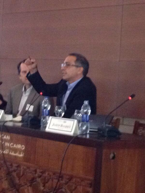 """What makes people mobilize?"" @fmabrouk #a2k4d14 #AUC http://t.co/7gYyBWyBQ7"