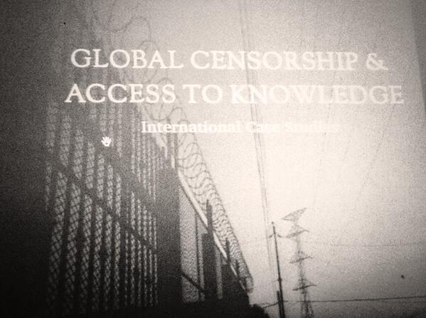 This is the cover of the new book on censorship and access to knowledge with case studies from 9 countries #a2k4d14 http://t.co/pP4h8AyIvS