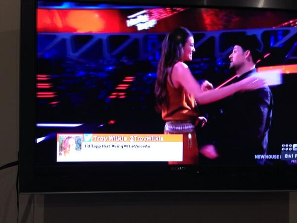 Not sure if this tweet should have snuck through #TheVoice! http://t.co/PutKb7OY2K