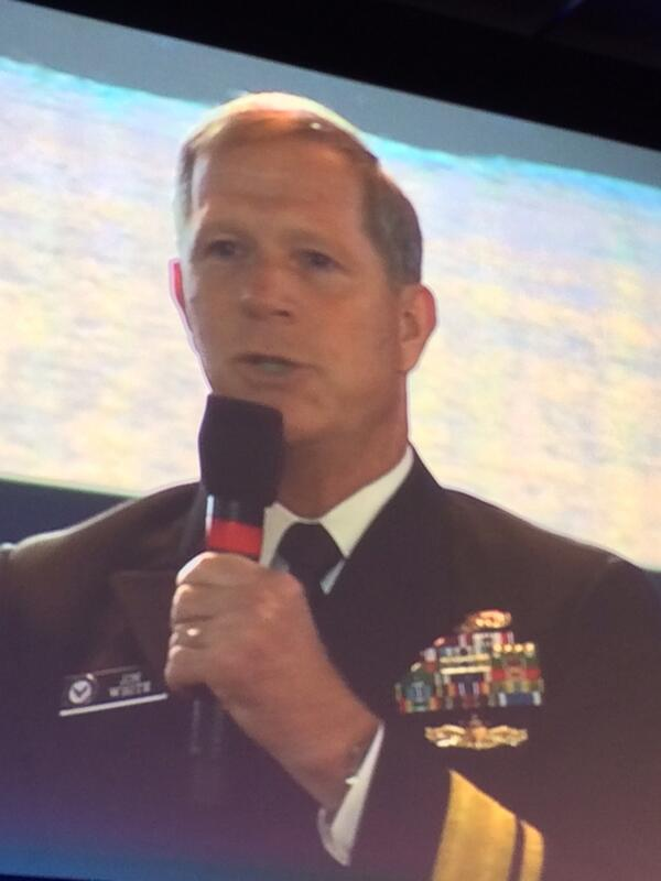 Adm White, Oceanographer of the Navy: Pacific Partnership enforces fishing regulation in W Pacific #OurOcean2014 http://t.co/zOFTLMhGSe