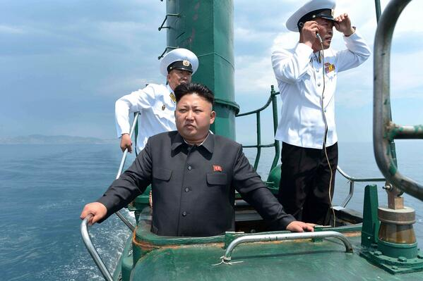 Emmanuelle Saliba On Twitter And A Meme Was Born Rt Nbcnewspictures Kim Jong Un Emerges From Submarine Http T Co Kgnckhxm5p Via Reuterspictures Http T Co Cui3da1ov7
