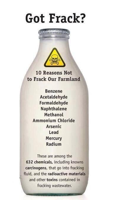 When fracking they pump this into the ground.... Omg.. We have no hope #talkfracking http://t.co/uZKlvgQbLv
