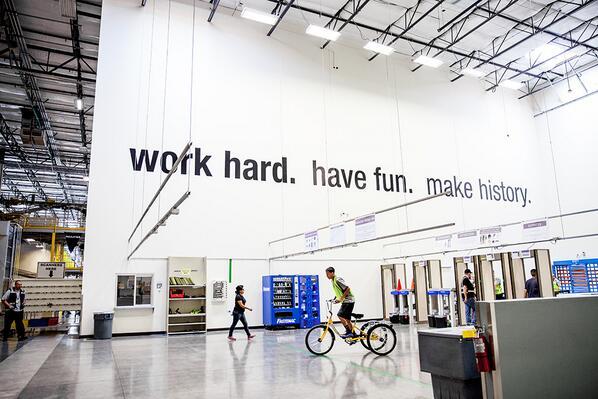 Jordan A Kauffman On Twitter Quot Amazon Motto Work Hard
