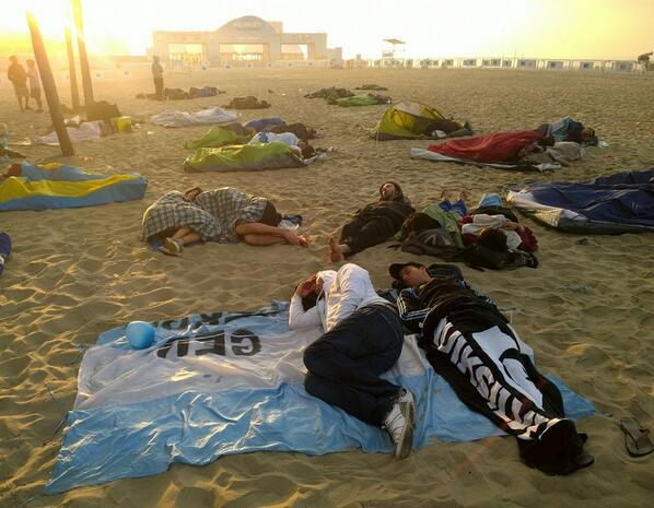 Acá se puede ver a algunos argentinos en Brasil, alojados en un resort con vista al mar. http://t.co/EI3dEHSFzZ vía @abulacio