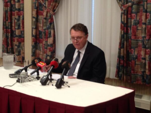 Coleman says family issue came up 6, 7 days ago, won't say what the specific issue was #nlpoli http://t.co/xEOb5YqmXd
