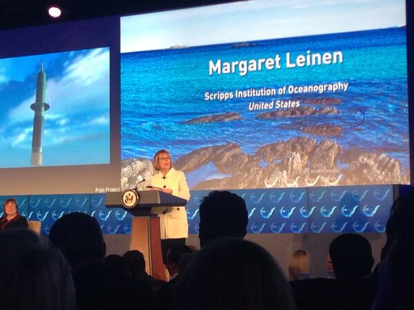 Margaret @Leinen4ocean @Scripps_Ocean does terrific job explaining revolution in ocean observations #OurOcean2014 http://t.co/81LdbBwpiG