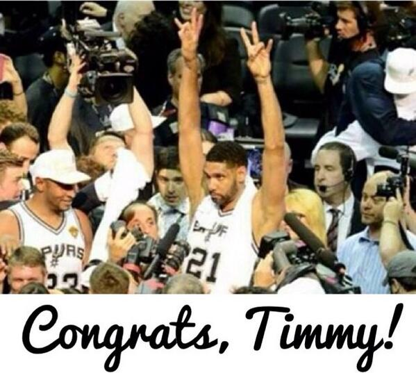 I wonder if Timmy throwing up the VI sign was good enough for the bad minded... http://t.co/l5fqzuAYzO