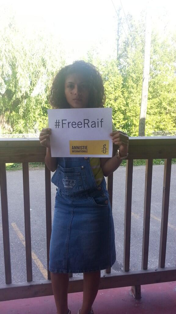 """RT """"@raif_badawi: From #Sherbrooke QC, Raif's Family Say #FreeRaif http://t.co/qwoIEeas8Q""""  Cc: @pmharper"""