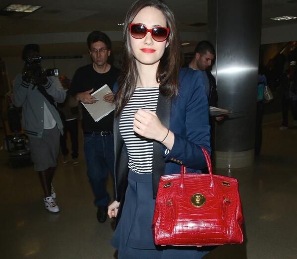 ea32de5e8c you ll never guess how much emmy rossum s ralph lauren ricky bag actually  costs