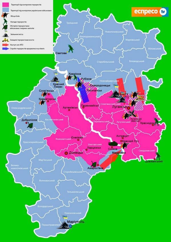 В Луганске террористы захватили общежитие: боевики и БТР под входом, а на крыше разместили зенитную установку, - СМИ - Цензор.НЕТ 2599