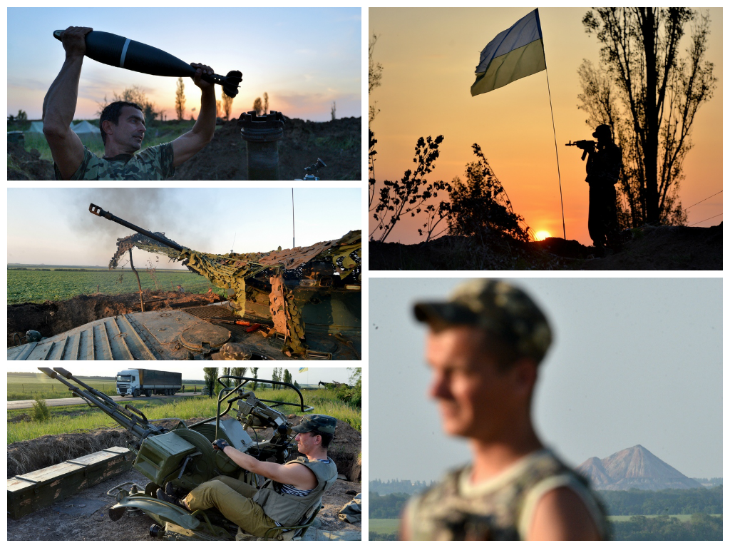 Силы АТО сегодня уничтожили более 80 боевиков, - СМИ - Цензор.НЕТ 1256