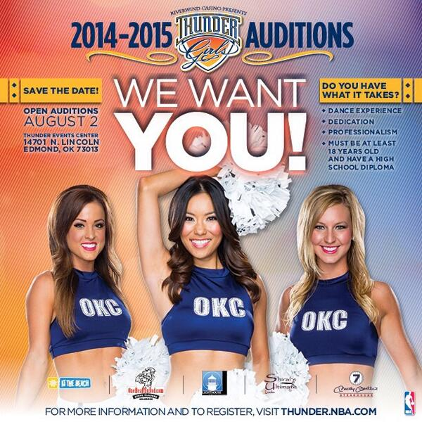 Just announced: Our open auditions will be held Saturday, Aug. 2! Preregister now at http://t.co/Q9trqxlYye. http://t.co/lSVrhPrcNT