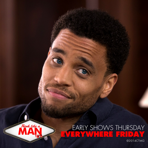 You can't help but smile back at @michaelealy. #ThinkLikeAManToo #MCM Buy tickets! https://t.co/NsWACmj0u6 http://t.co/OiZjcOK4vq