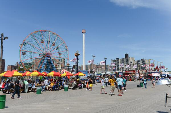 The first roller coaster in America opened up 130 years ago today, in, where else? Coney Island. http://t.co/YsUybunFgC