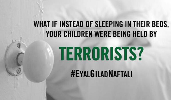 Please #BringBackOurBoys today. Prayers for #EyalGiladNaftali http://t.co/bGHkRrfgmQ