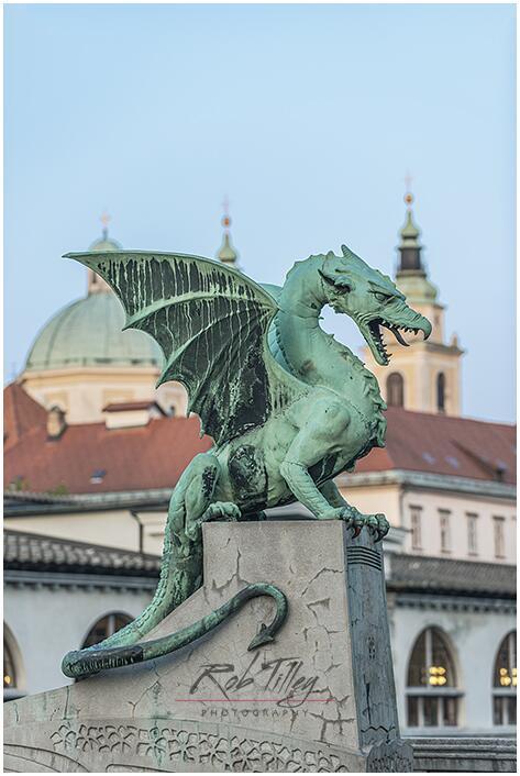 The Dragon Bridge, Ljubljana, Slovenia http://t.co/HKVrS75Lua