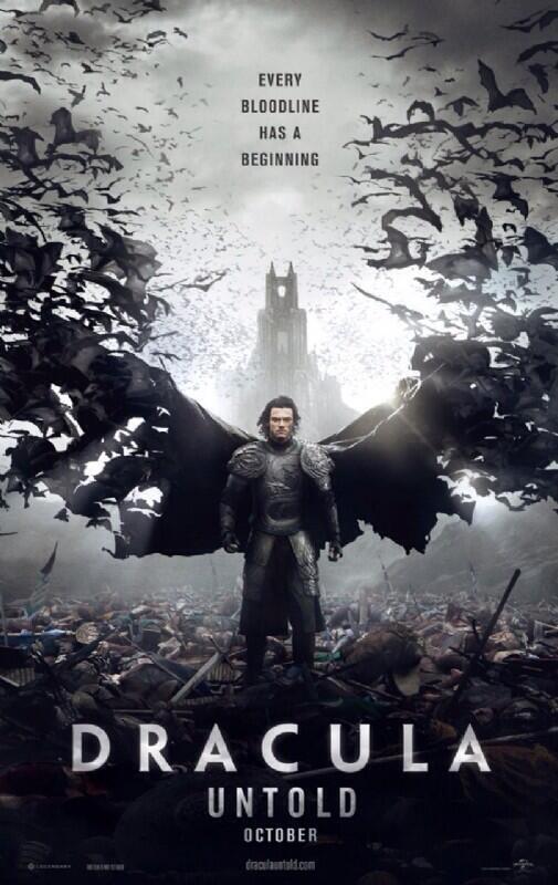 「ホビット 竜に奪われた王国」の弓の達人バルド役でおなじみのルーク・エヴァンズが主演する新たなドラキュラ映画「Dracula Untold」のポスターが解禁に。全米で10.3公開予定。血〜吸うたろかぁ〜!? #映画