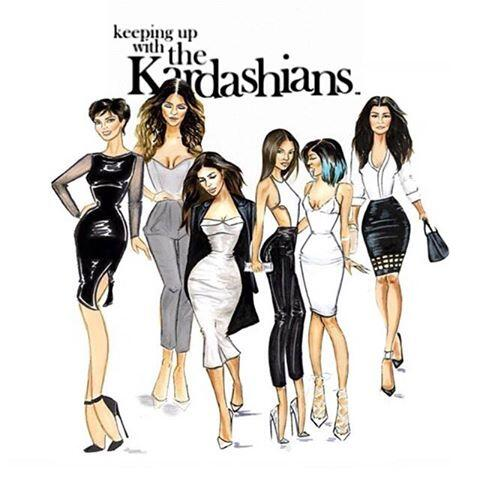 Kardashians on e on twitter we love this kuwtk sketch for What s up with the kardashians
