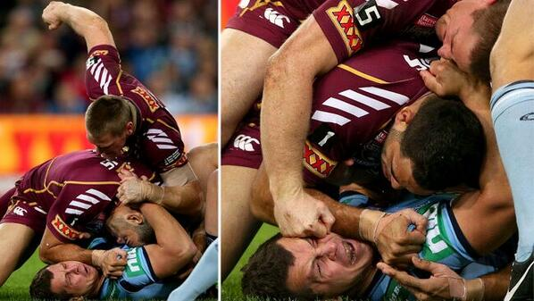 Brent Tate, the man Queensland made poster boy for player safety & integrity. @BulldogRitchie http://bit.ly/U2hFZd