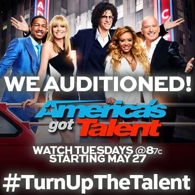 Check out my band @legacimusic on AGT tomorrow!  Tune in to see your boys!  @nbcagt #TurnUpTheTalent http://t.co/USruItEqDH