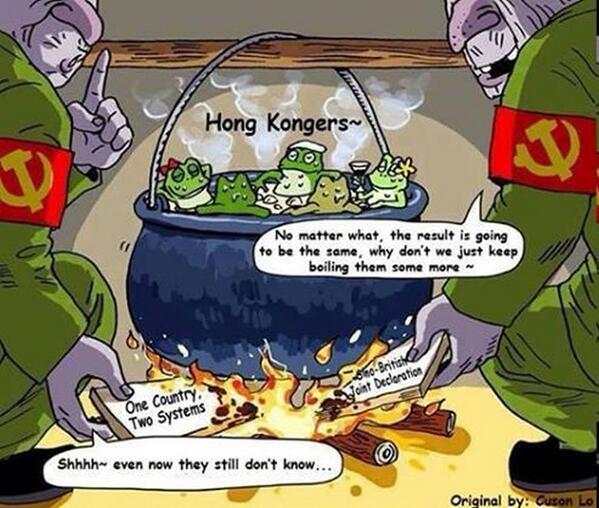 Tom Grundy On Twitter Satirical Cartoon Re Hong Kong Via