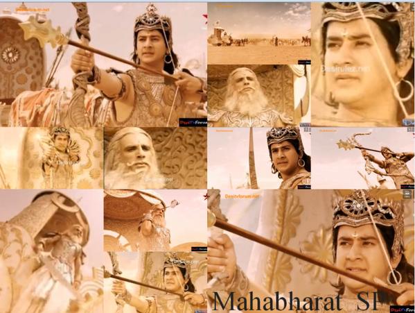 Mahabharat Starplus On Twitter Abhimanyu And Pitamah Bhishma Fight Mahabharat Riputtar Http T Co 0murtum3et