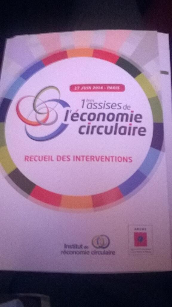 Premières Assises de l'Economie Circulaire @ Maison de la Chimie #économiecirculaire http://t.co/qeYqKywH8H