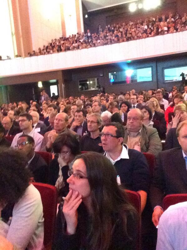 Aux assises #EconomieCirculaire, très nombreux pour travailler sur les idées nouvelles et l'économie de demain. http://t.co/3GN60Izruc
